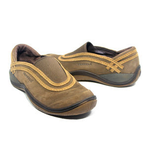 MERRELL Willow Chocolate Moc Slip-On Comfort Shoes